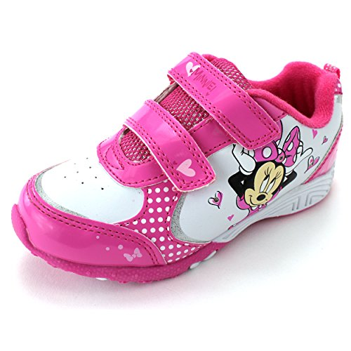 minnie mouse pink lighted sneakers shoes jackshibo