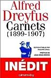 echange, troc Alfred Dreyfus, Philippe Oriol - Carnets (1899-1907): Après le procès de Rennes