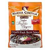 Nueva Cocina Black Bean Soup, with Chipotle Chile, Medium, 6-Ounce Units (Pack of 6) ~ Nueva Cocina
