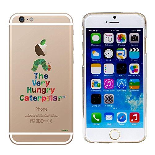 iPhone6s iPhone6 ケース カバー はらぺこあおむし クリアケース ハードケース / たいとる