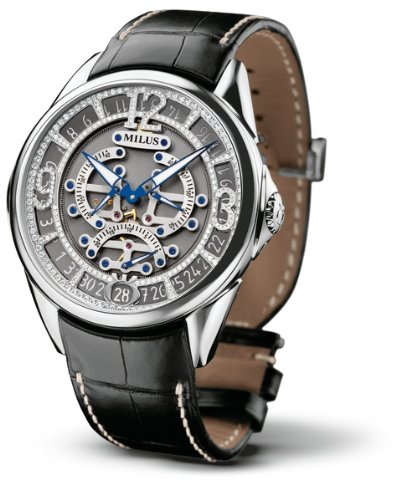 Milus - Tirion Triretrograde - Joaillerie 47mm 18K Automatic
