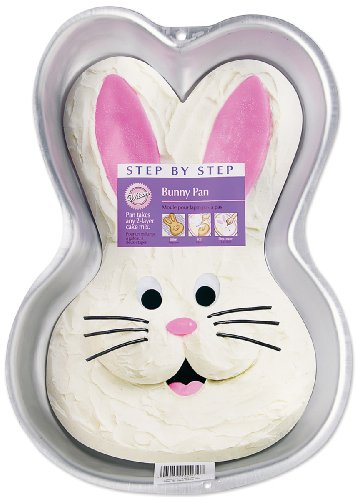 Wilton Step-by-Step Bunny Pan (Rabbit Cake Pan compare prices)