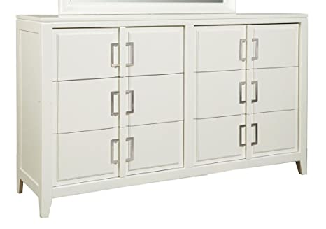 Samuel Lawrence Furniture Brighton Drawer Dresser in White
