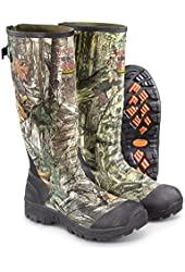 """Guide Gear Men's 17"""" Insulated Rubber Hunting Boots 2400 Gram"""