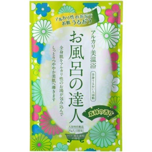 お風呂の達人 森林の香り 35g