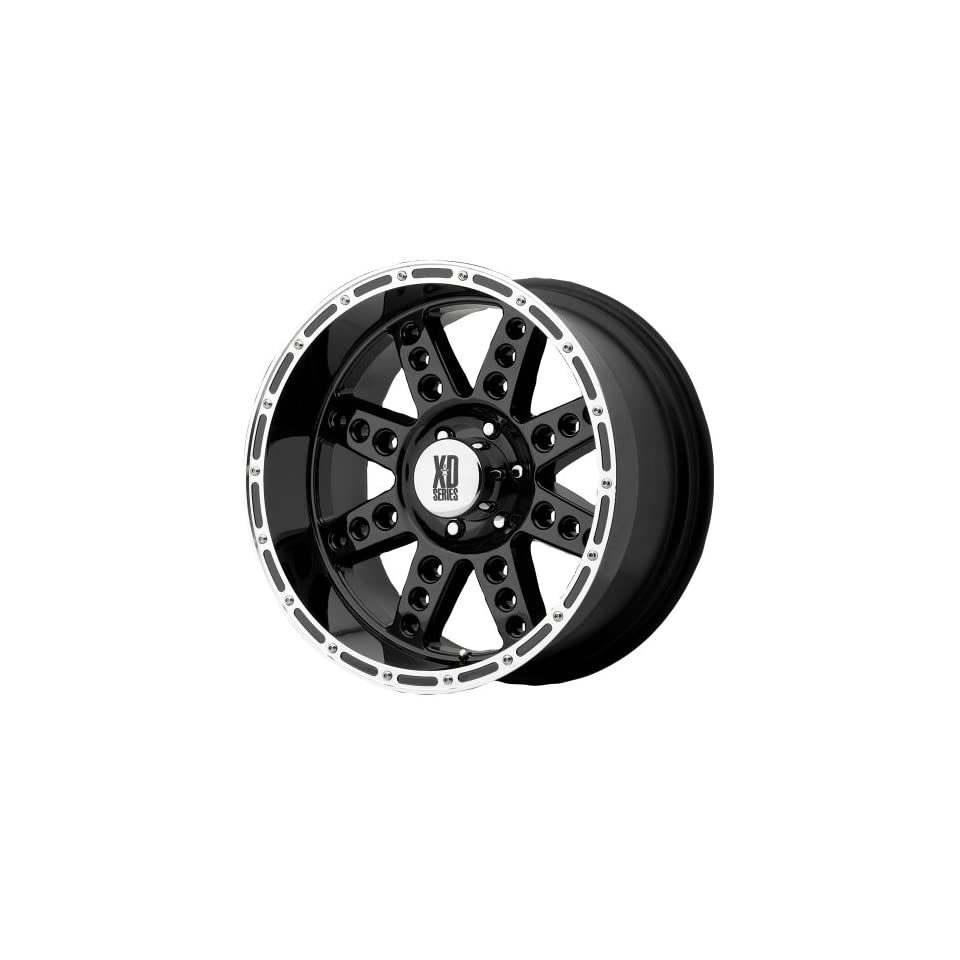 XD Series 766 Diesel Gloss Black Machined Wheel (20x10/6x5.5)