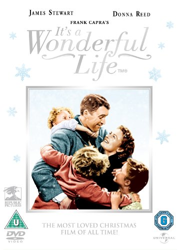 It's A Wonderful Life (Colourised) [DVD]