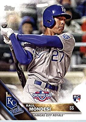 2016 Topps Opening Day #OD-32 Raul Mondesi Kansas City Royals Baseball Rookie Card