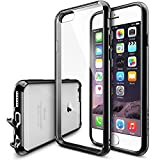 """IPhone 6 Case - Ringke FUSION IPhone 6 Case 4.7 """" **NEW** [Dust Cap&Drop Protection][BLACK] Premium Crystal Clear..."""