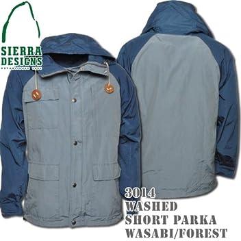 Washed Short Parka 3014: Blue Stone / Navy