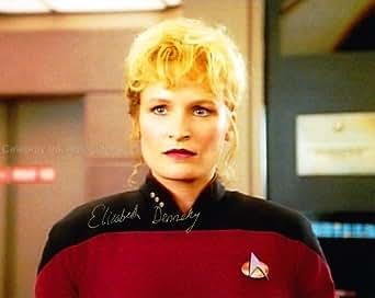 ELIZABETH DENNEHY as Lt. Commander Shelby - Star Trek: TNG Genuine Autograph