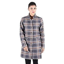 Check Wool Coat 3