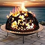 """GOOD DIRECTIONS STARRY NIGHT FIRE DOME DECORATIVE FIRE BOWL PIT 23"""" ;PO#44T-KH/435 H25W3327163"""
