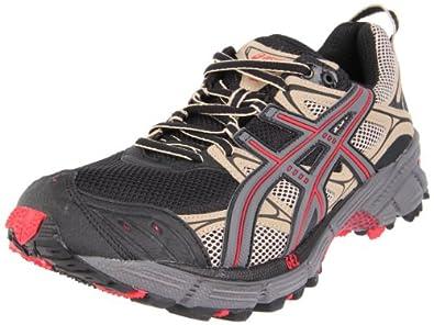 ASICS Men's GEL-Kahana 5 Running Shoe,Black/Titanium/Red Lava,9 M US