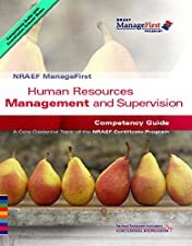 ManageFirst Hospitality Human Resources Management and Supervision with Answer Sheet by National Restaurant Association