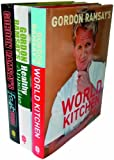 Gordon Ramsay Gordon Ramsay 3 book set (Gordon's World Kitchen, Healthy Food, Fast Food)