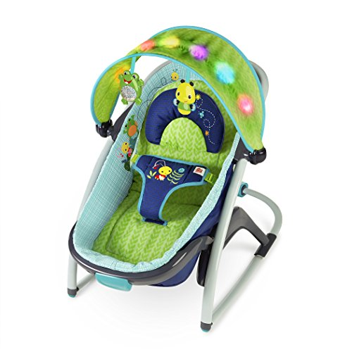 Bright Starts Light up Lagoon 2-in-1 Delight and Dream Rocker by Bright Stars