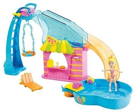 Polly Pocket Flip 'N Swim Pool Playset by Mattel