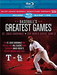 Baseball's Greatest Games: 2011 World Series Game 6 [Blu-ray]