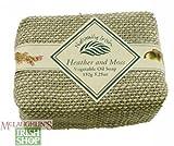 Naturally Irish Linen Wrapped Heather & Moss Soap - 4.4 oz.