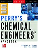 Perry's Chemical Engineers' Handbook on CD-ROM (LAN Version) (0071346384) by Perry, Robert H.