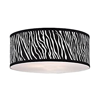 large zebra print drum lamp shade lampshades. Black Bedroom Furniture Sets. Home Design Ideas