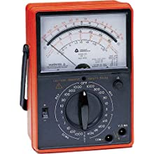 Triplett 60 Ruggedized Volt-Ohm Milliammeter with 28 Ranges and Functions, 1000V AC/DC