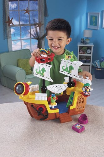 Fisher-Price World of Little People L'il Pirate Ship