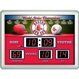 MLB Boston Red Sox Scoreboard by Team Sports America