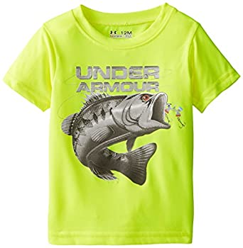 Under armour baby boys 39 fish hook tee yellow for Fishing shirt of the month
