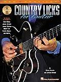 Country Licks For Guitar Tab Book/Cd