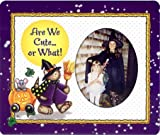 Are We CuteOr What! - Halloween Photo Magnet Frame