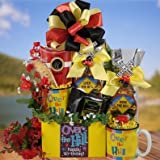 Old Timer Crossing Over the Hill Birthday Gift Basket