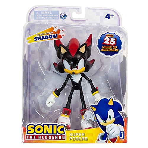 Sonic 20th Anniversary Super Posers Shadow Over 25 Points of Articulation (Arch Rivals Sega compare prices)