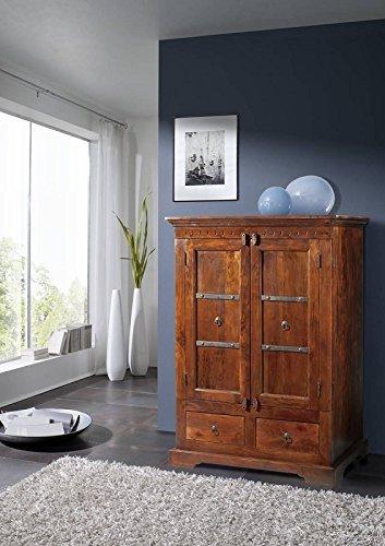 Stile coloniale mobili TV armadio in legno di Acacia massiccio legno OXFORD #407