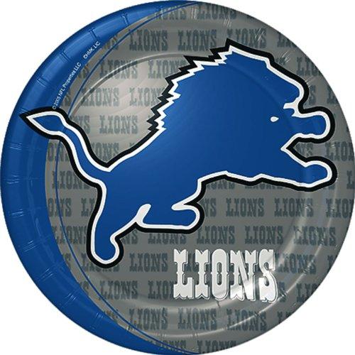 Detroit Lions Dinner Plates - 1