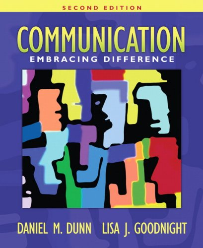 Communication: Embracing Difference (2nd Edition)