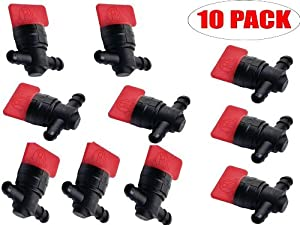 Oregon 07-406 (10 Pack) In-Line Fuel Shut-Off Valve Replaces Briggs & Stratton 698183 by Oregon