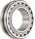 SKF Spherical Radial Bearing, Tapered Bore, Lubrication Groove, 3 Hole Outer Ring, Steel Cage, C3 Clearance