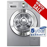 Samsung WF0702WKU - 1200rpm A++ Eco Bubble Washing Machine in Silver Finish