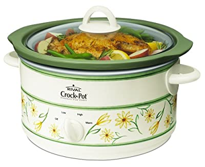 Crock-Pot SCR500-GF 5-Quart Slow Cooker, White from Crockpot