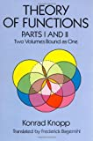 Theory of Functions, Parts I and II (Dover Books on Mathematics) (Pts. 1 & 2)
