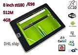 8 Inch Upad Zt180 E98 Cortex A9 Wifi Camera Flash Usb3g Tablet Pc,flat Pc