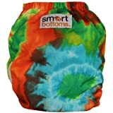 Smart Bottoms Smart 3.1 OS Organic All-in-one Cloth Diaper (Tie Dye)