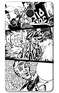 joker batman Designer Printed Back Case Cover for Meizu M3 Note