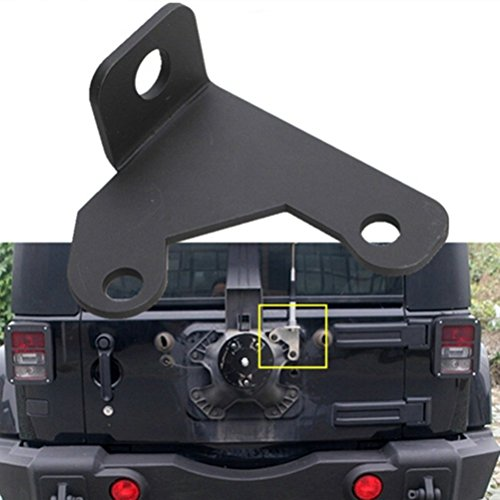 Camoo Jeep Spare Tire CB Antenna Mount For Jeep Wrangler Unlimited Rubicon Sahara JK 2/4 Door 2007-2016 (Cars Door Hinges Lift compare prices)