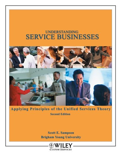 Understanding Service Businesses Applying Principles of...
