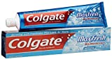 Colgate Max Fresh Fluoride Gel Toothpaste, With Mini Breath Strips, Cool Mint, 7.8 Ounces