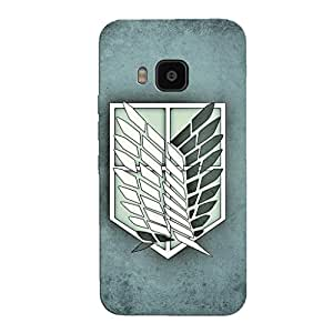 ATTACK ON TITAN BACK COVER FOR HTC ONE M9
