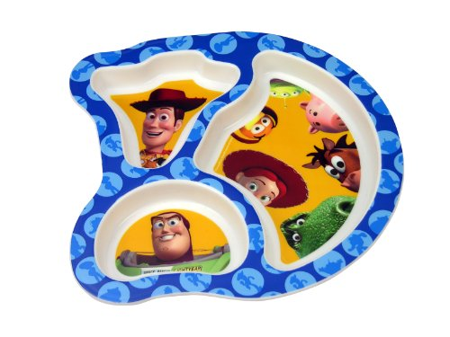 The First Years Toy Story Toddler Plate (Discontinued by Manufacturer)